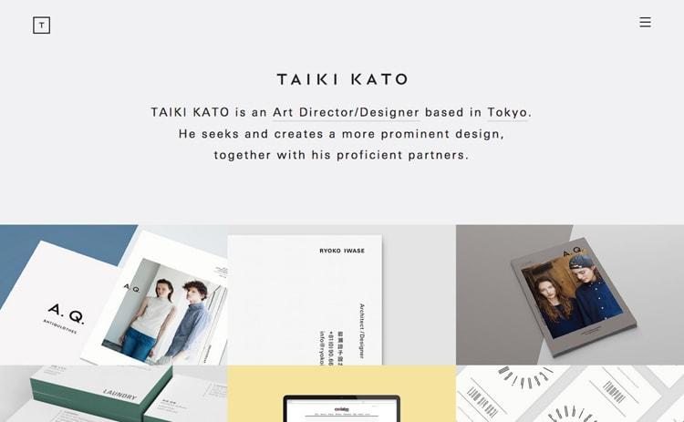 TAIKI KATO | 加藤 タイキ
